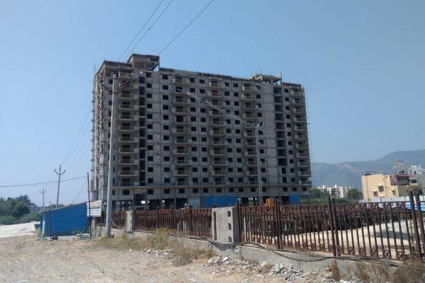 Starlit Suites Tirupati - February 2017 - Photo 2 - 14th Floor Slab Completed