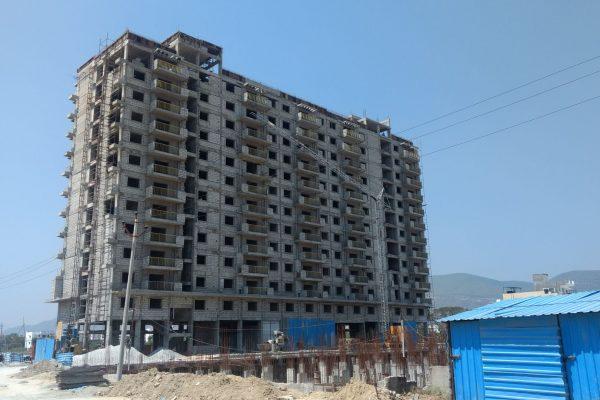 Starlit Suites Tirupati - February 2017 - Photo 1 - 14th Floor Slab Completed