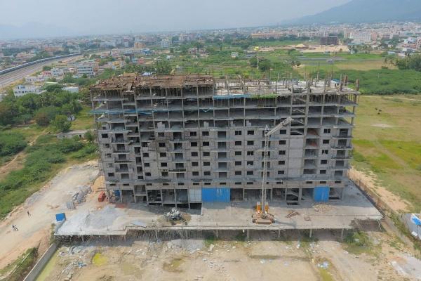 October 2016 - 11th Floor Slab in Progress